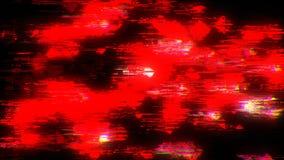 Daño del vídeo de la interferencia del ruido representación 3d almacen de metraje de vídeo