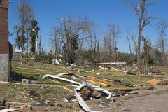 Daño KY 1e del tornado Fotografía de archivo