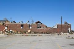 Daño KY 1j del tornado Imagen de archivo libre de regalías