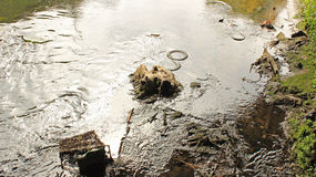 Daño medioambiental Imagen de archivo libre de regalías
