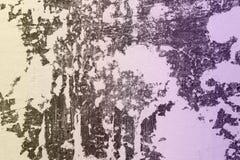 Daños ásperos enormes azules en el estuco en la textura del piso - fondo abstracto fantástico de la foto imágenes de archivo libres de regalías
