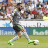 Dań Carvajal Real Madrid Fotografia Royalty Free