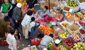 DA拉特,越南2013年2月8日 库存照片
