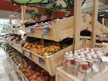 da的新的Jaya菜市场商店:人USJ 库存照片
