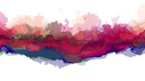 Da arte original nova abstrata turbulenta da qualidade do fundo da ilustra??o do respingo da pintura de Digitas agrad?vel fresco  ilustração stock