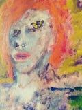 Da arte psychadellic trippy do esboço da ilustração do desenho pics fresco aleatório Imagens de Stock Royalty Free