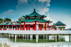 Da Bo gongu świątynia zdjęcie stock