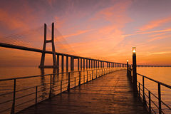 da bridżowy gama Vasco Zdjęcie Royalty Free