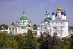 Da catedral dimitriyevsky yakovlevsky do monastério do salvador igreja zachatyevsky Foto de Stock Royalty Free