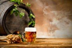 Da cerveja vida ainda foto de stock royalty free