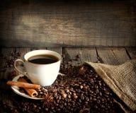 Da chávena de café do vintage vida ainda Fotos de Stock Royalty Free
