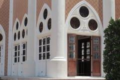 Da cor bonita da porta da arte velho clássico Foto de Stock