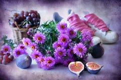 Da cor-de-rosa vida ainda foto de stock royalty free