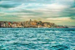 Da Costantinopoli Turchia Fotografia Stock Libera da Diritti