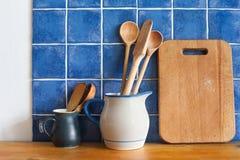 Da cozinha vida ainda interior com vintage Fotografia de Stock Royalty Free