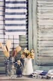 Da cozinha vida rústica ainda Fotos de Stock Royalty Free