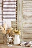 Da cozinha vida rústica ainda Fotos de Stock