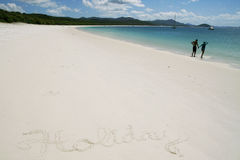 Día de fiesta en la playa Imagen de archivo