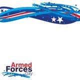 Día de fuerzas armadas de arma Imagen de archivo libre de regalías