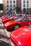 Día de la demostración de Ferrari - araña de 355 F1 Berlinetta Imagenes de archivo