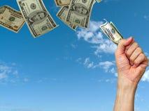 Día de paga. Dinero Imagen de archivo