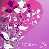 Día de tarjeta del día de San Valentín [1 elegante] Fotos de archivo