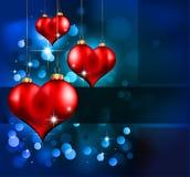 Día de tarjeta del día de San Valentín elegante Flayer Imagen de archivo