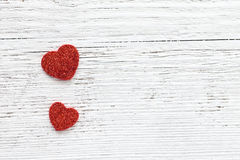Día de tarjetas del día de San Valentín del fondo Imagen de archivo libre de regalías
