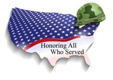 Día de veteranos Imagen de archivo libre de regalías