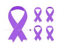 Día del cáncer del mundo Imagen de archivo libre de regalías