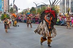 Día del desfile muerto en Ciudad de México Fotografía de archivo