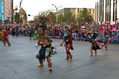 Día del desfile muerto en Ciudad de México Foto de archivo