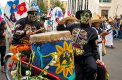 Día del desfile muerto en Ciudad de México Imagenes de archivo