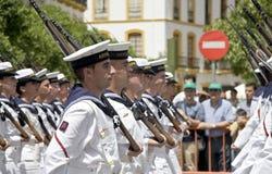 Día del ejército Fotografía de archivo