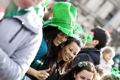 Día del St. Patrick Imagenes de archivo