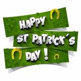 Día del St Patrick feliz Imagen de archivo