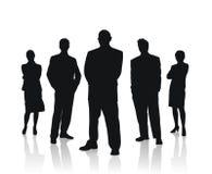 Da equipe executivos da ilustração do vetor Imagem de Stock