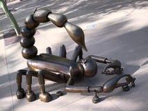 ` da escultura do morador do deserto do Arizona Fotografia de Stock