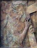 2da estación de la cruz Imagen de archivo