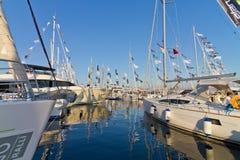 32da Estambul internacional Boatshow Imagen de archivo libre de regalías