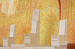 da Fatima igreja Portugal santissima trindade Obraz Royalty Free