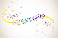 Día feliz de la amistad Fotografía de archivo