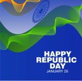 Día feliz de la república Imágenes de archivo libres de regalías