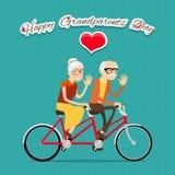 Día feliz de los abuelos Imagen de archivo