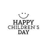 Día feliz de los niños Imagen de archivo libre de regalías