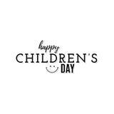 Día feliz de los niños Fotografía de archivo