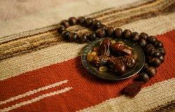 Da foto tradicional do Islã da ramadã fundo ajustado Fotos de Stock Royalty Free