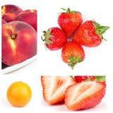 Da fruto el collage imagen de archivo