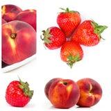 Da fruto el collage fotografía de archivo libre de regalías
