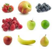 Da fruto el collage Fotografía de archivo